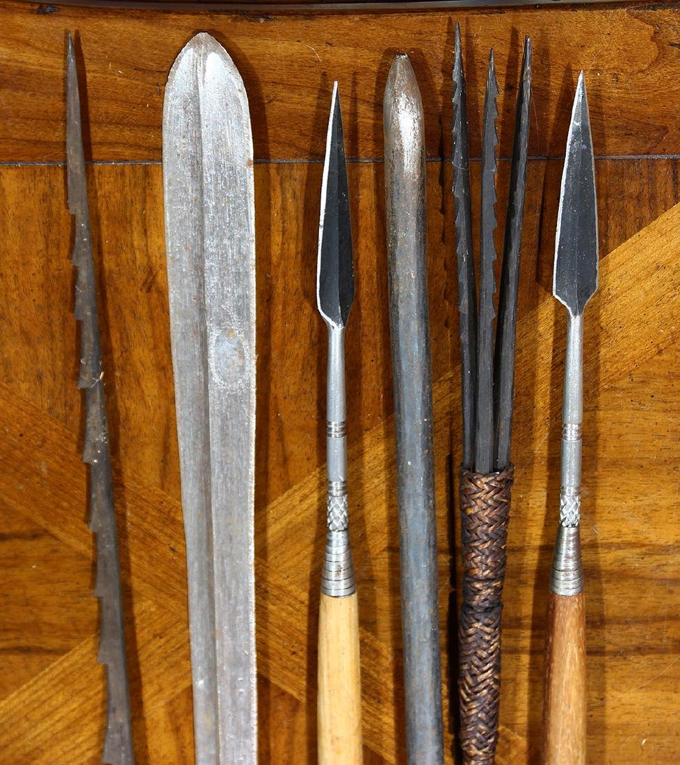 Group of spears