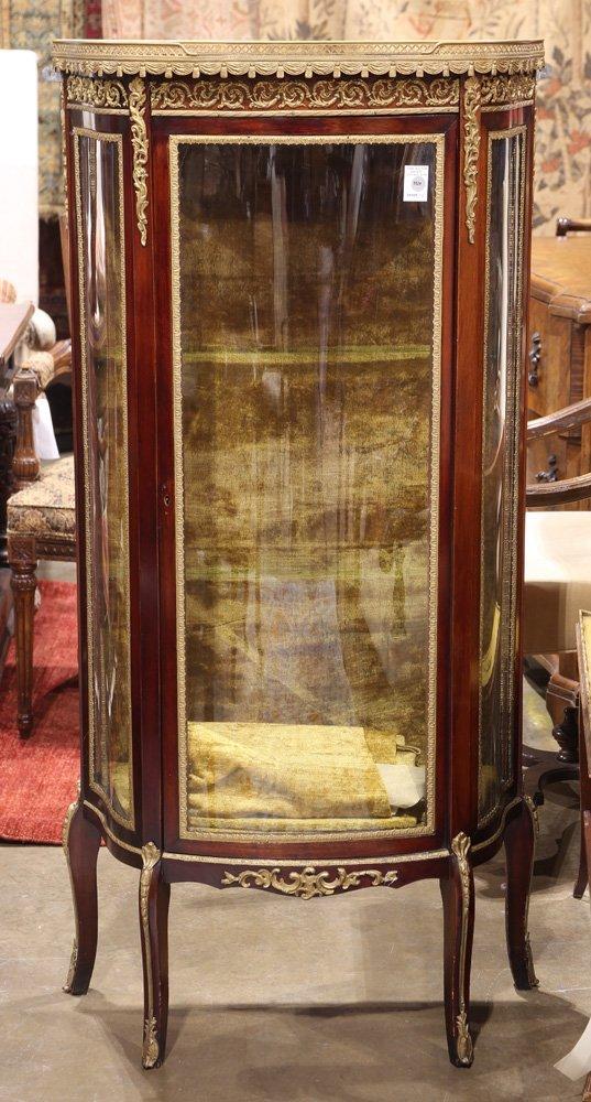 Louis XV style vitrine