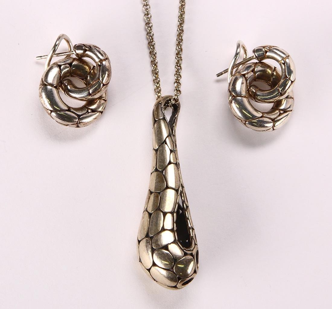 John Hardy sterling silver, Kali jewelry suite