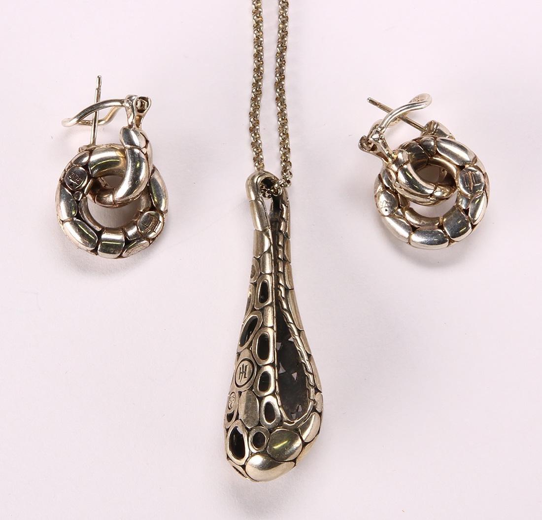 John Hardy sterling silver, Kali jewelry suite - 2