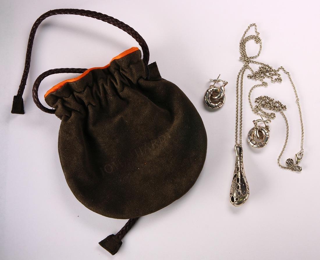 John Hardy sterling silver, Kali jewelry suite - 3