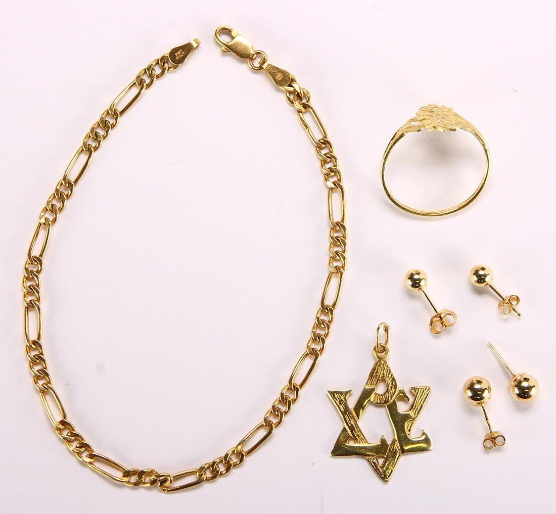 Yellow gold jewelry - 2
