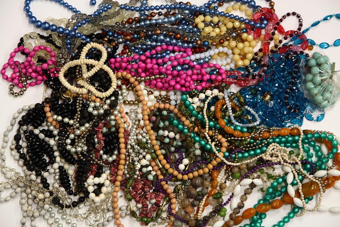 Collection of costume bead necklaces - 2