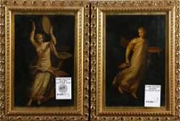 Paintings, Winged Allegories ,