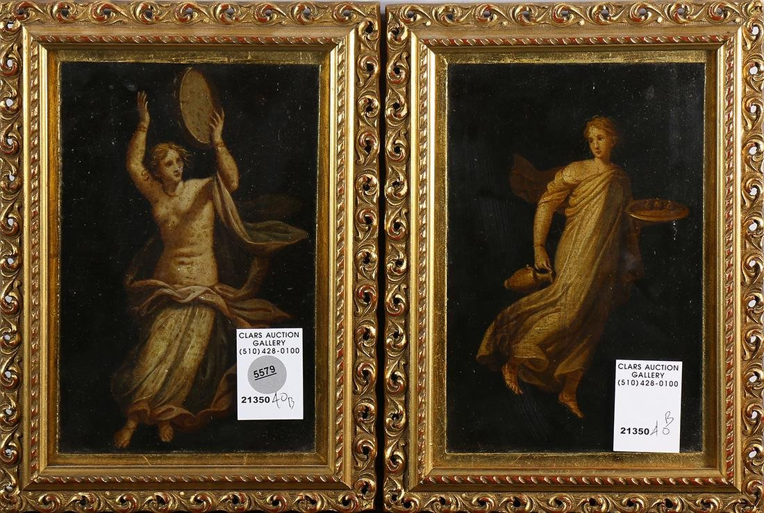 Paintings, Winged Allegories ,