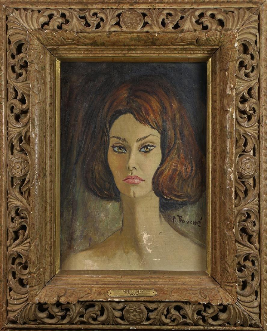 Painting, Rene Bouche