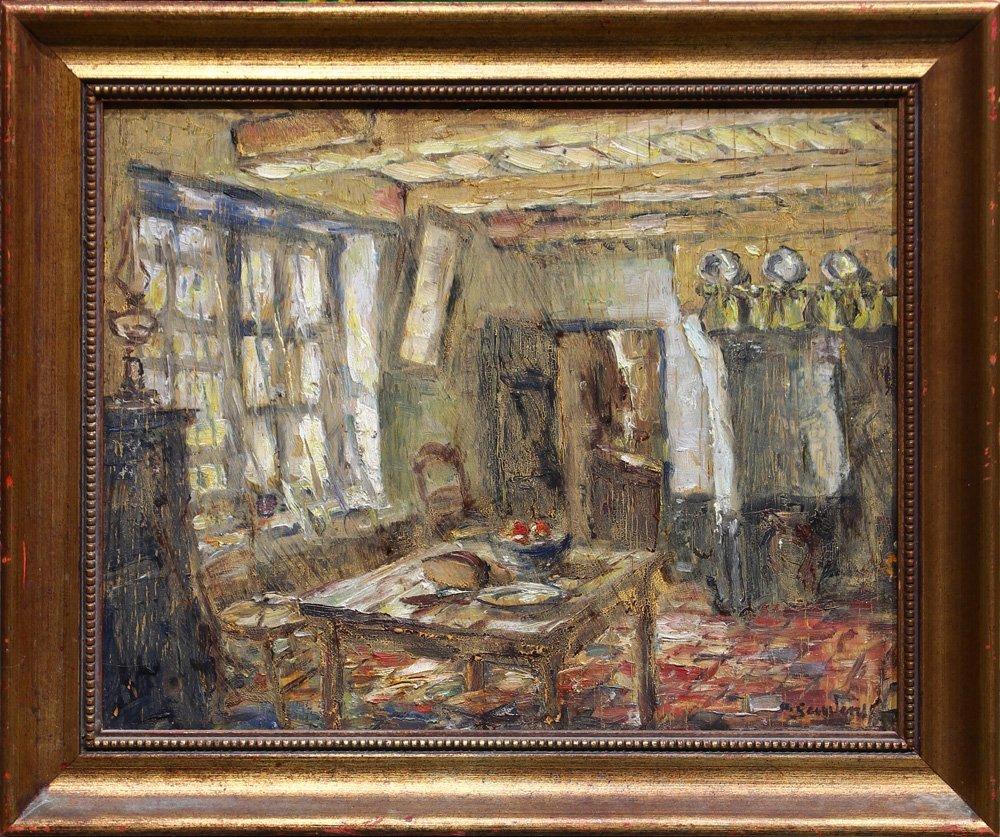 Painting, Albert Geudens
