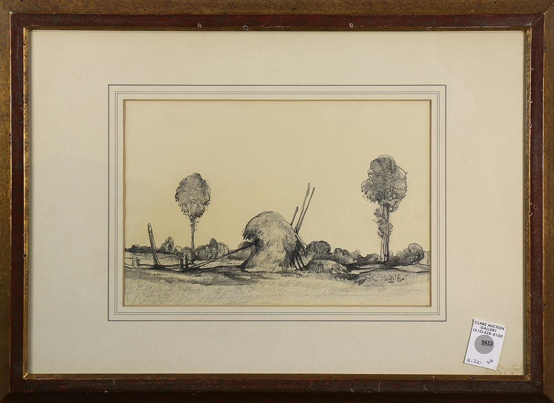 Drawing, Encampment, 1953