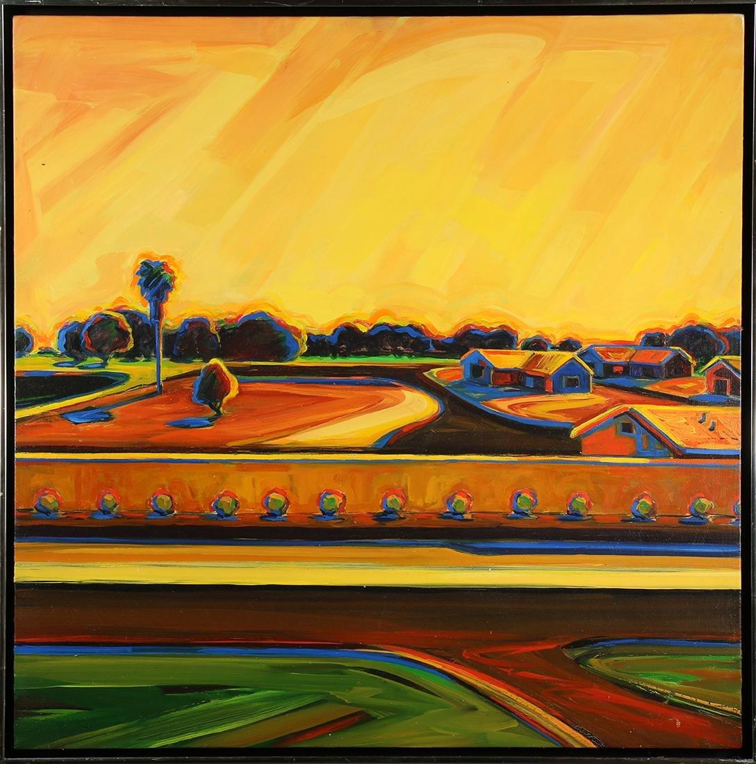 Painting, Follower of Wayne Thiebaud