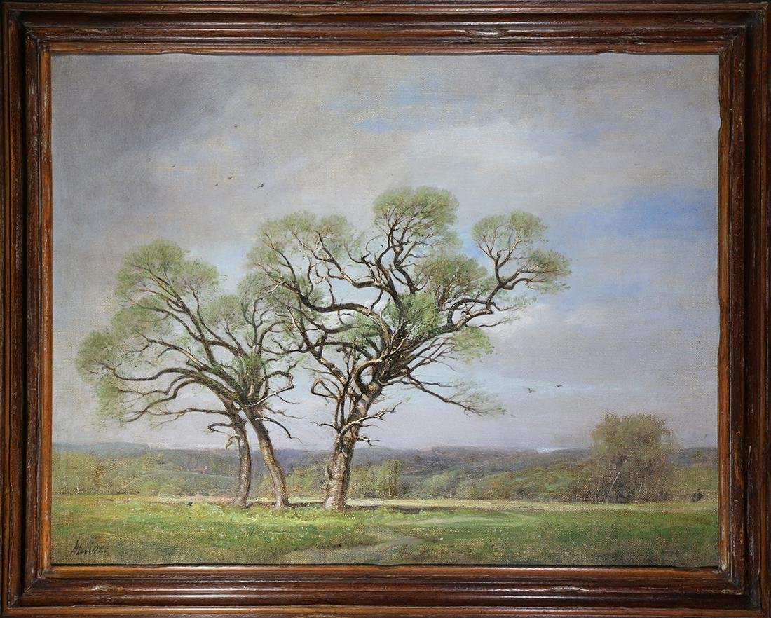 Painting, Spring Oaks, Umbria