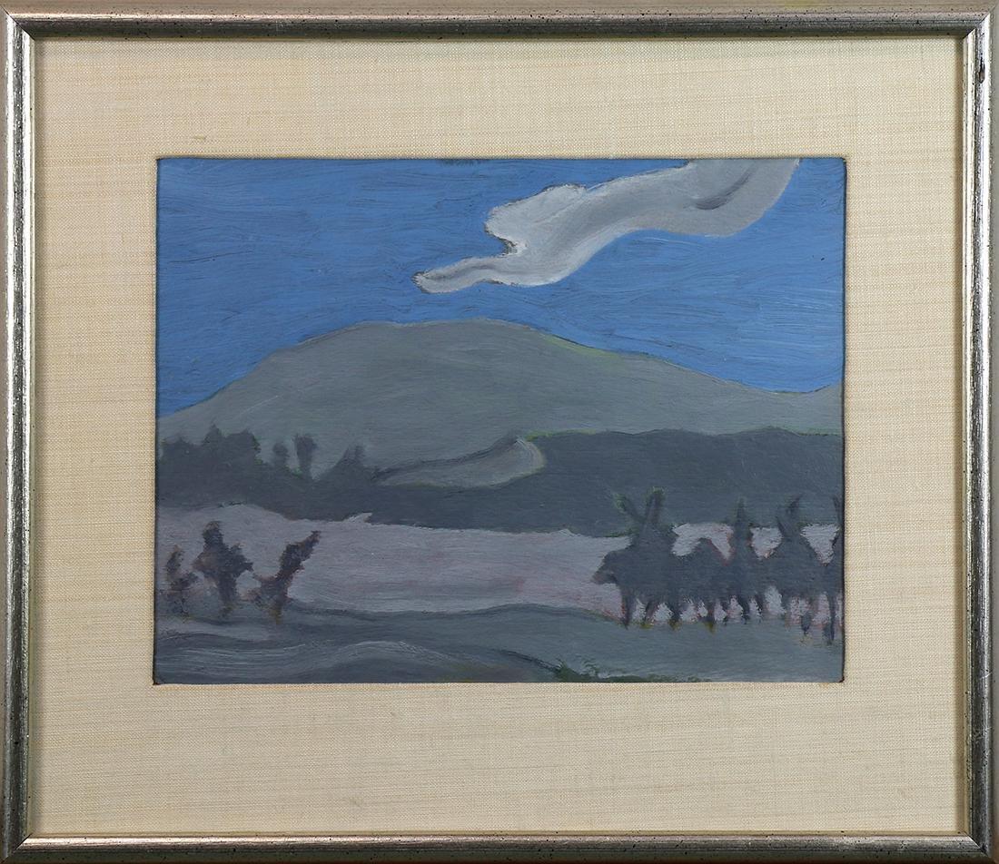 Painting, Edward Estlin Cummings