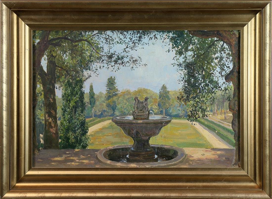 Painting,  Attributed to Alson Skinner Clark
