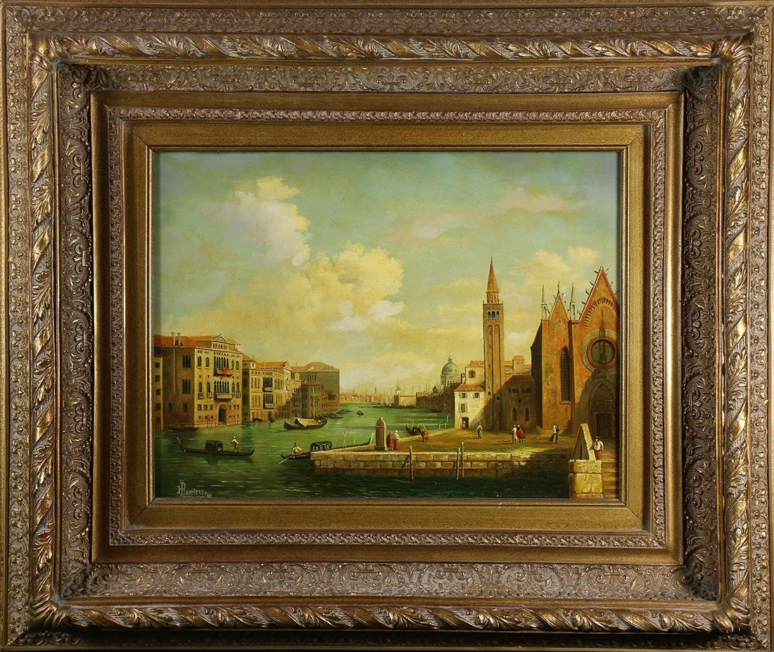 Painting, Henry D. Ramirez