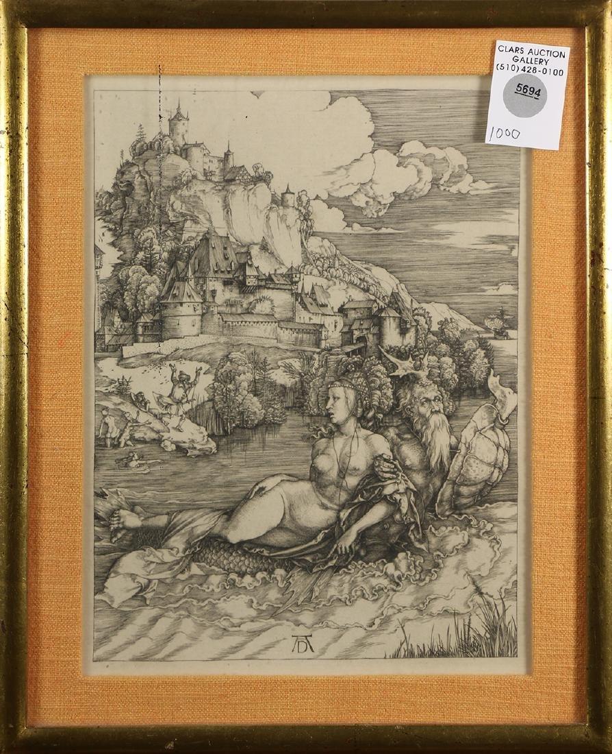 Print, After Albrecht Durer