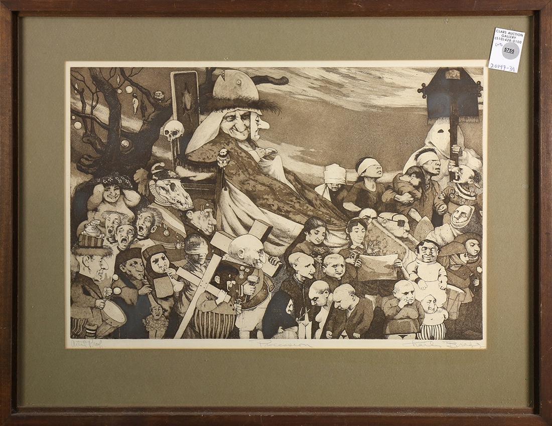 Print, Charles Bragg