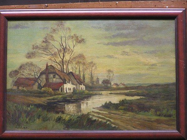 3: Oil, J.Polar, Dutch, landscape