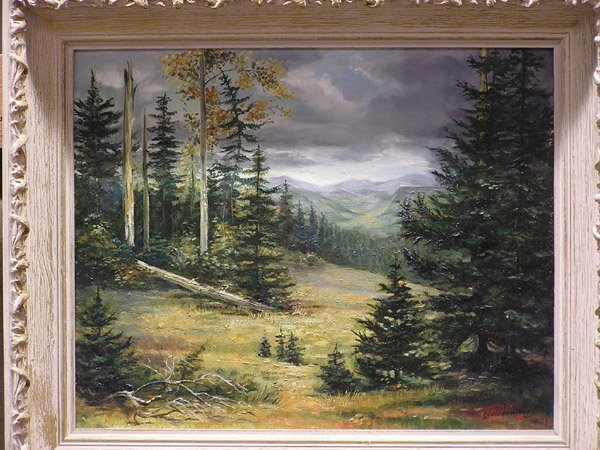 11: Painting, After The Storm signed Vercinsky