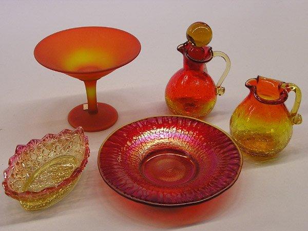 18: Amberina Glass Group