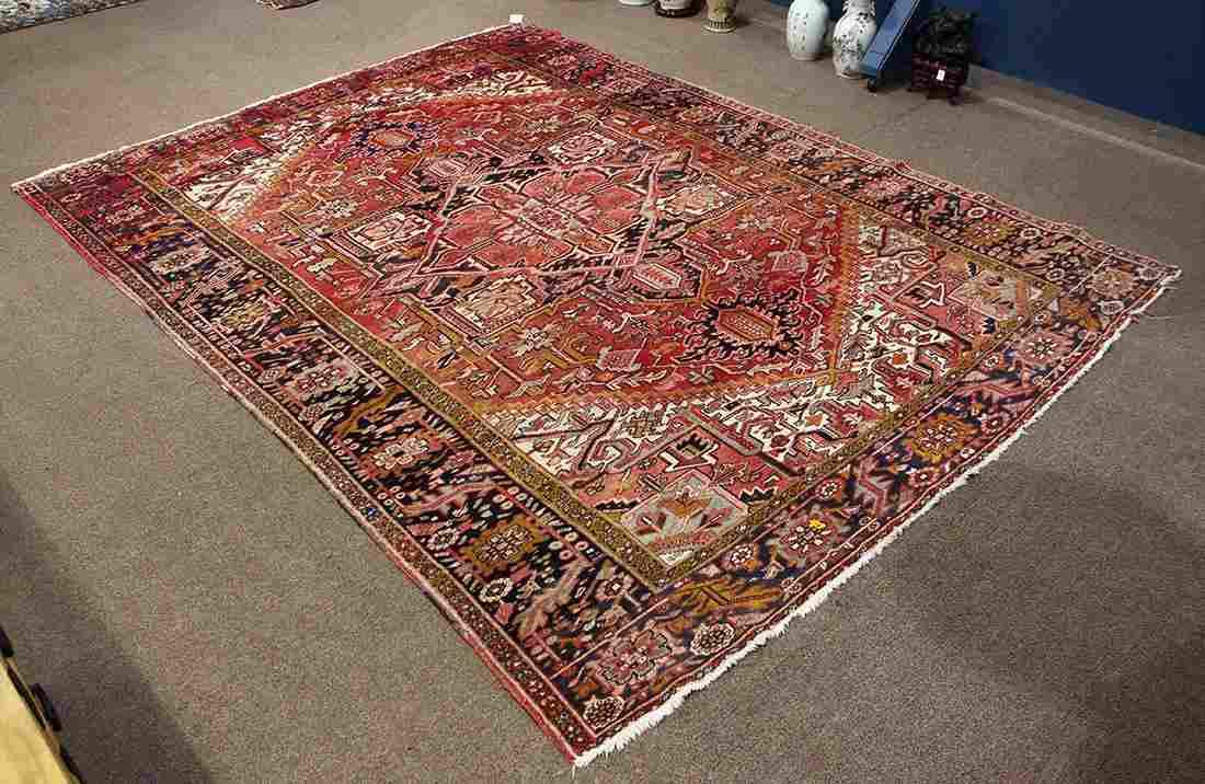 Semi Antique Persian Heriz carpet circa 1930