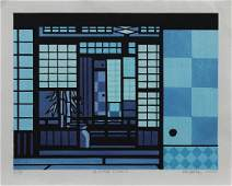 Modern Japanese Woodblock Print Clifton Karhu