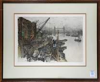 Prints Luigi Kasimir Central Park and London Bridge
