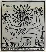 Print Keith Haring Pop Shop 1985