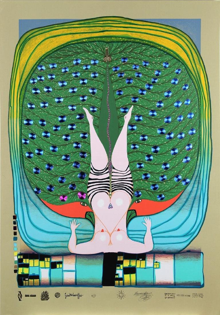 Print, Friedensreich Hundertwasser