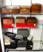 Collection of Leica cases