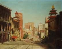 Painting, Chinatown, San Francisco