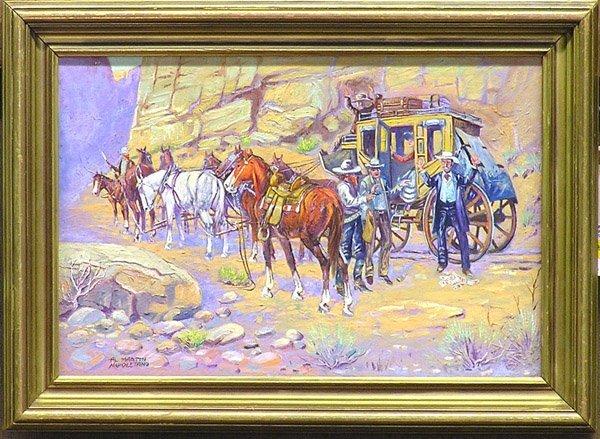 4005: Painting Al Napoletano Western genre