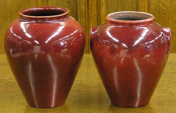 5997: Broadmore Oxblood Ginger Jar, Vase