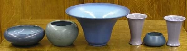 6146 Marblehead art pottery bowl