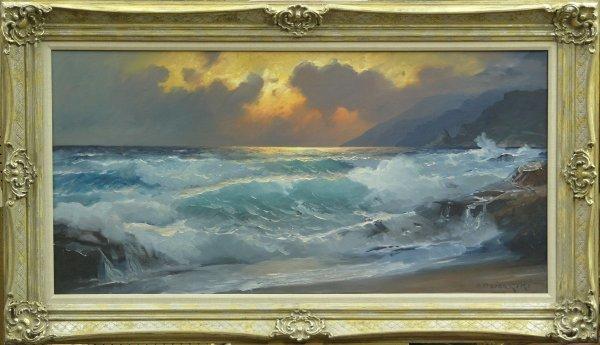 6261: Painting Alexander Dzigurski California