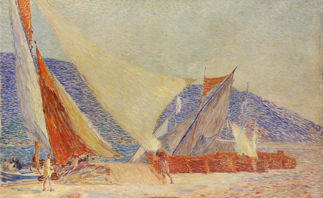 Painting, Henri Jean Guillaume Martin