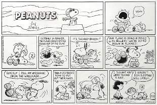 Charles Schulz, Sunday comic original