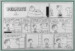 Charles Schulz, Sunday comic strip original