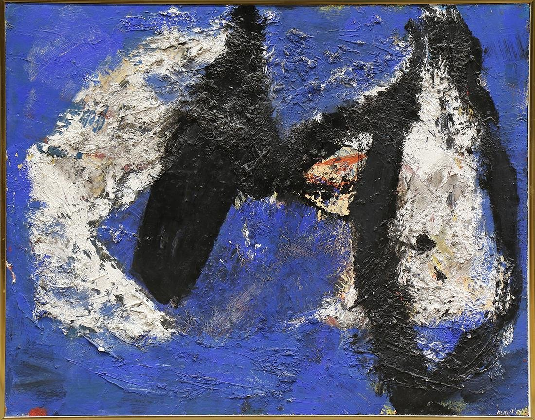 Painting, George McNeil