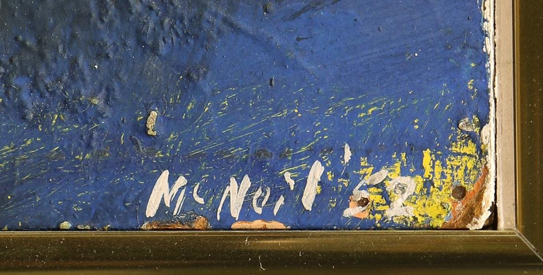 Painting, George McNeil - 2