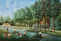 Painting Raphael Toussaint