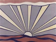 Print, Roy Lichtenstein, Sunrise