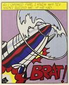 Prints, Roy Lichtenstein, As I Opened Fire