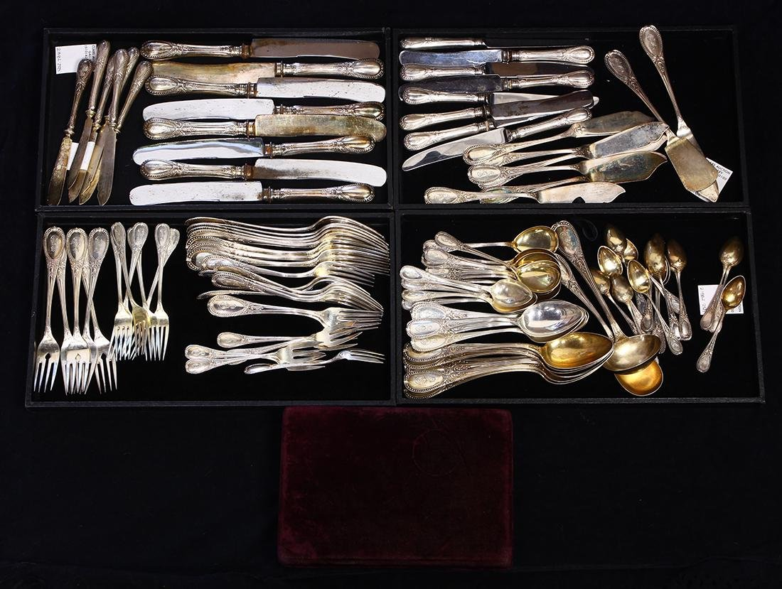 German 800 silver flatware service