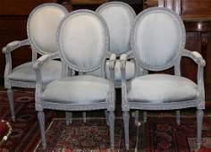 Louis XVI style fauteuils