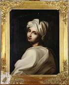 Portrait of a Woman in White, Painting