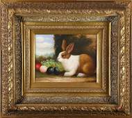Portraits of Rabbits, Painting