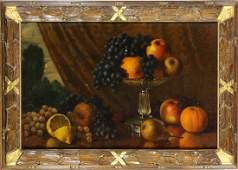 Painting, Still Life with Fruit, 1881