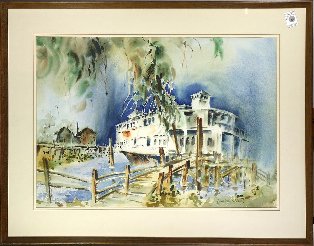 Painting, Barbara Lueblee Hill