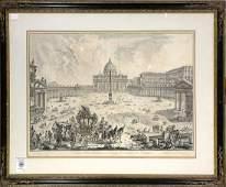 Print, Giovanni Battista Piranesi, Veduta della