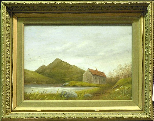 1: painting country landscape