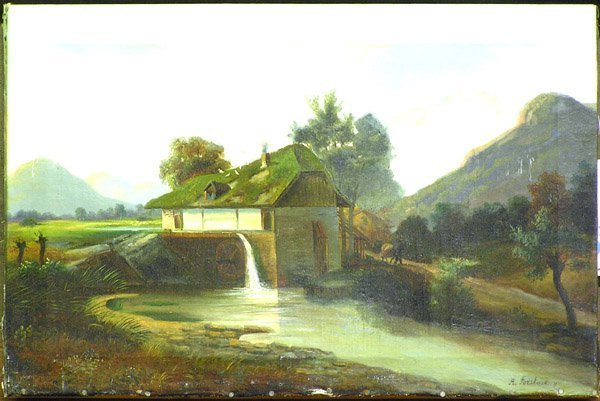 2: painting Forstmann European